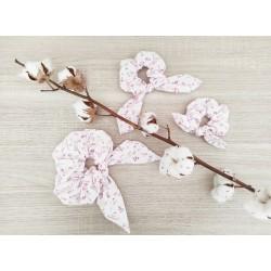 Le foulchie fleur rose...