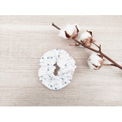Le chouchou blanc fleurs...