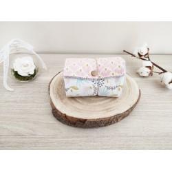 Papier toilette fleur pastel