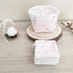 Licornes rose pâle